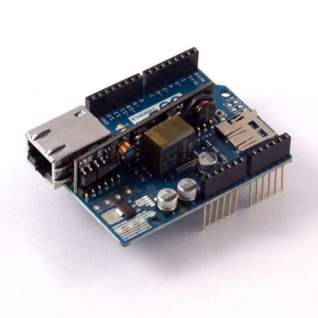 Arduino Ethernet Shield with POE (A000075)