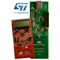 M24LR-DISCOVERY - development kit with CR95HF reader and M24LR04E NFC/RFID tag