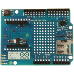 Arduino Wireless Shield SD - nakładka z gniazdem Xbee