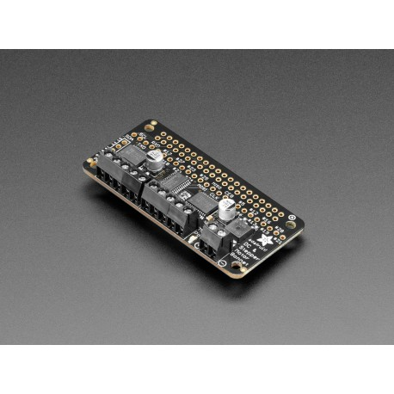 DC & Stepper Motor Bonnet - moduł ze sterownikami silników dla Raspberry Pi