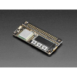 LoRa Radio Bonnet - LoRa 868MHz module with OLED display for Raspberry Pi