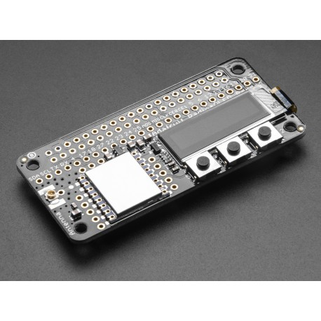 LoRa Radio Bonnet - LoRa 433MHz module with OLED display for Raspberry Pi