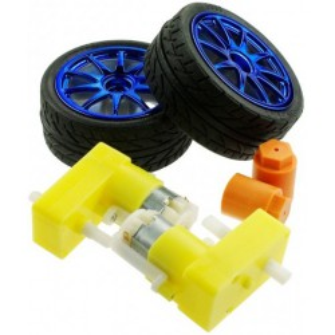 D65 wheel set - BLUE