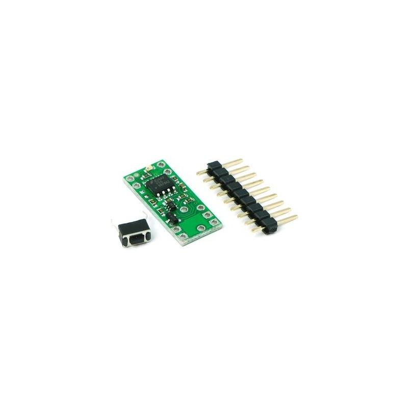 Wyświetlacz LED 7-segmentowy, 1 cyfra 7mm, zielony, wspólna anoda