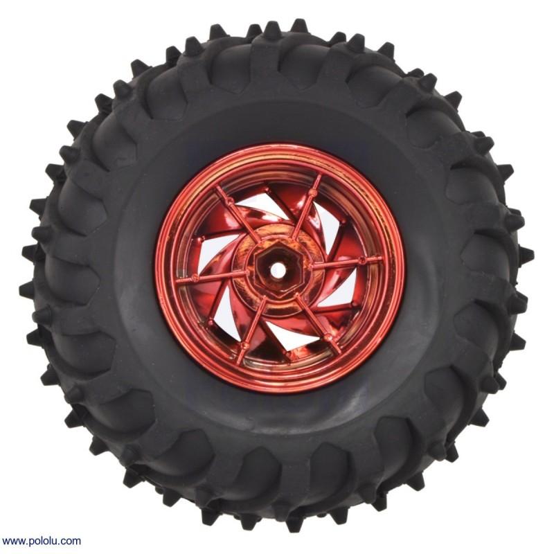 Wyświetlacz LED 7-segmentowy, 1 cyfra 101,60mm, zielony jasny + czerwony jasny, wspólna anoda