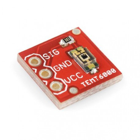 TEMT6000 Breakout Board In Fritzing Library, SparkFun