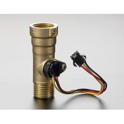 Liquid Flow Meter - Brass 1/2