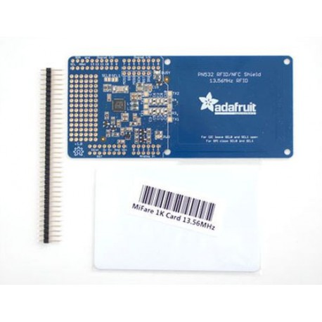 Adafruit PN532 NFC/RFID Controller Shield for Arduino + Extras