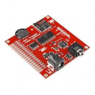 Miniature Slip Ring - 12mm diameter, 6 wires, max 240V @ 2A