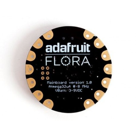 FLORA - Wearable electronic platform: Arduino-compatible