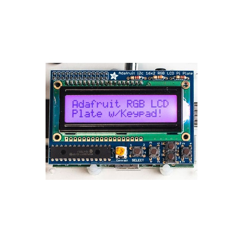 Adafruit RGB Positive 16x2 LCD+Keypad Kit for Raspberry Pi - Sklep