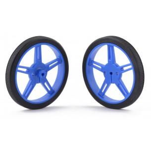 Connecting cables M-M orange 15 cm for contact plates - 10 pcs.