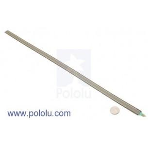Goldpin czerwony 1x40 szpil. prosty do druku, raster 2.54mm