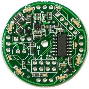 Goldpin czerwony 2x40 szpil. prosty do druku, raster 2.54mm