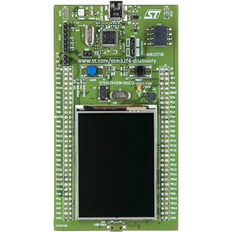 STM32F429I-DISCO - development kit with STM32F429ZI microcontroller