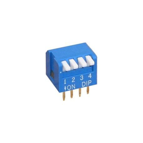DP-04 - DIP switch 4 sections