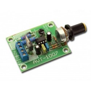 AVT1007 B - regulator obrotów silnika elektrycznego - zestaw do samodzielnego montażu