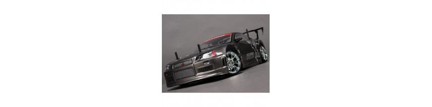 Skala 1/10 HobbyKing Mission-D 4WD GTR Drift Car
