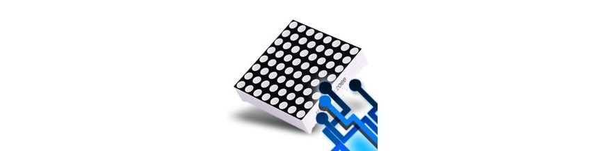 LED diodes - matrices, lines