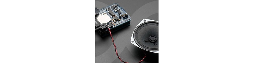 Audio modules for Arduino