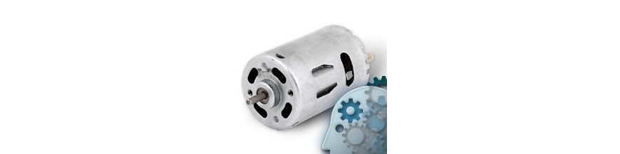 DC motors without gears