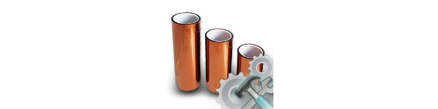 Tapes (aluminum, kapton, copper, insulating)