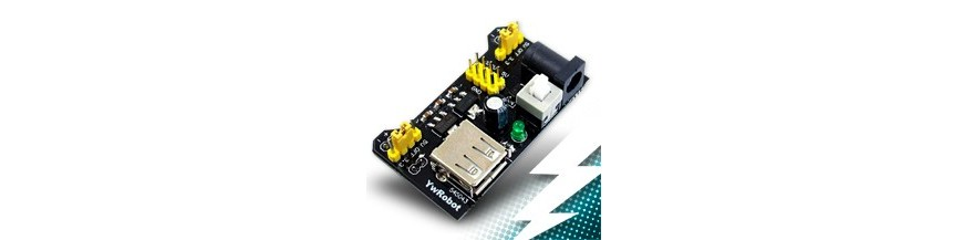 Power modules for breadboards