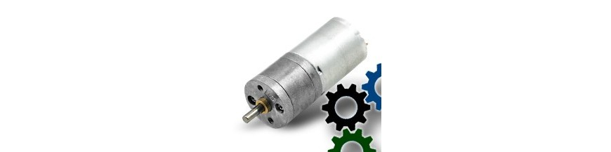 25D Metal Gearmotors