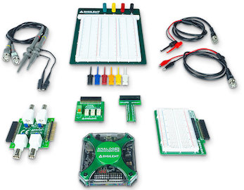 Ultimate Analog Discovery 2 Bundle for electronics system