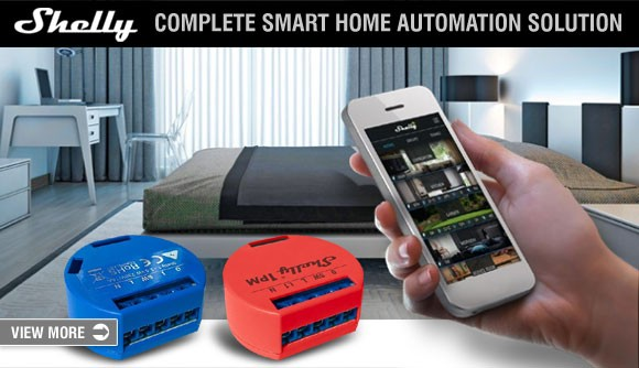 Shelly - Modern home automation controllers