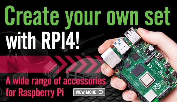 Create your own set with RPI4B!