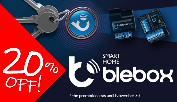Blebox products now 20% cheaper